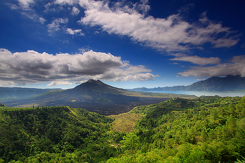 Batur Volcano and Lake