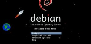 Install Debian from USB